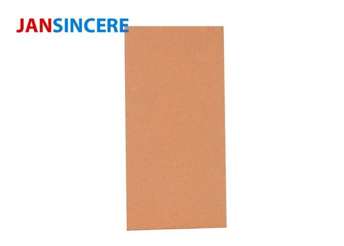 Heating Furnace Castable Fire Brick , Straight Thermal Kiln Refractory Bricks