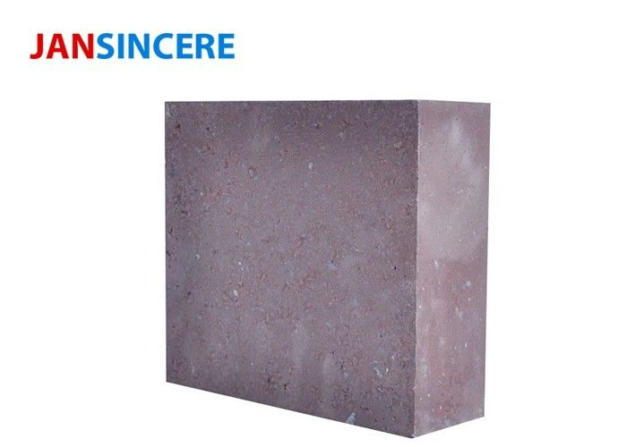 High Temperature Fused Magnesite Refractory Bricks Excellent Mechanical Resistance