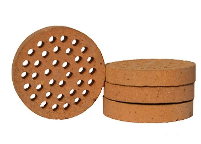 Kiln Furnace High Alumina Refractory Bricks High Working Temperature Abrasion Resistance
