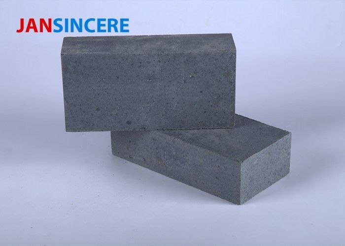 Silicon Carbide Low Duty Firebrick , Split Fire Bricks For Wood Burners