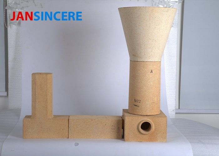 Cement Kiln Alumina Silicate Refractory Brick High Temperature Resistance