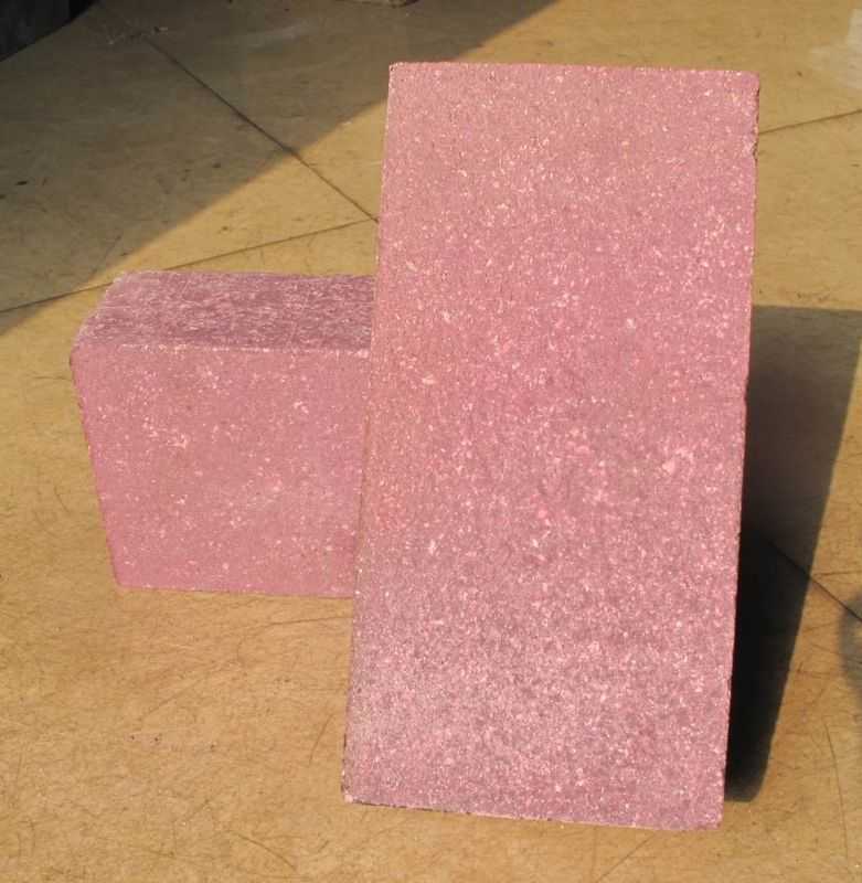Mullite Bonded Zircon Chrome Bricks / Brown Corundum Brick CE Approval