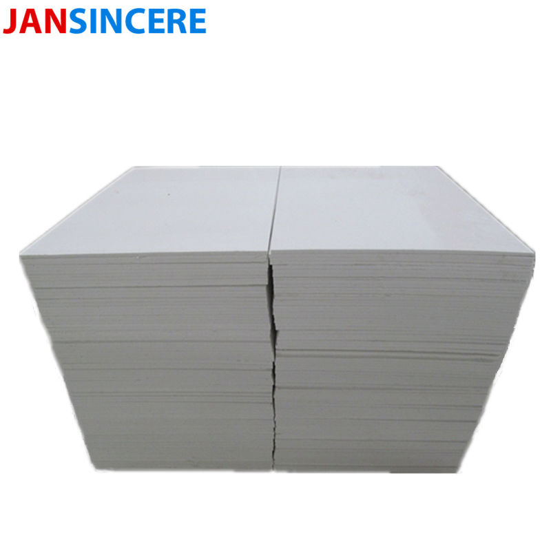 Polycrystalline Mullite Ceramic Fiber Board 1800℃ Fire Resistant Insulation