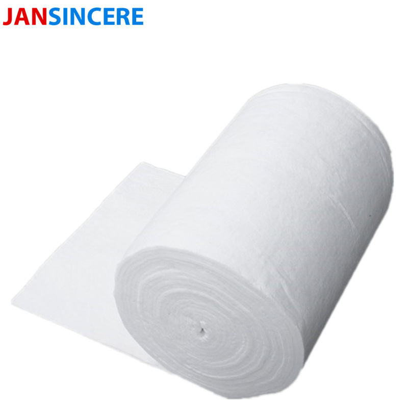 Aluminum Silicate High Temperature Ceramic Fiber Blanket For Steam Pipe