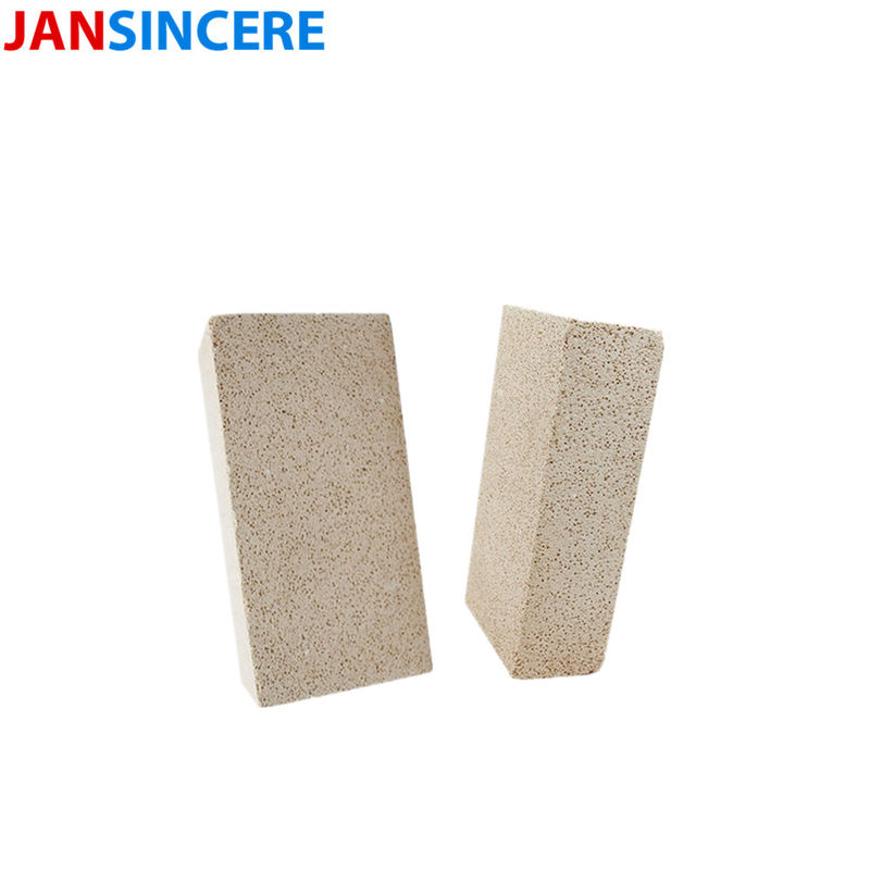 High Alumina Mullite Insulating Refractory Brick Lightweight JM23 JM26