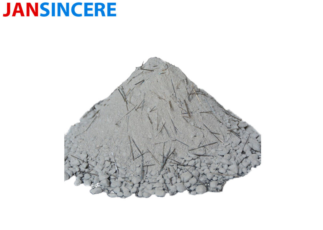 Castable Refractory Material Low cement steel fiber high alumina refractory castable for tundish